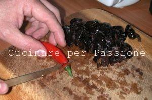 le olive saltate in padella