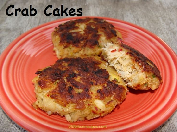 CRAB CAKES Recipe:  https://www.facebook.com/notes/old-biloxi-recipes-by-sonya-fountain-miller/crab-cakes-submitted-by-steven-pluff/10150691705973914