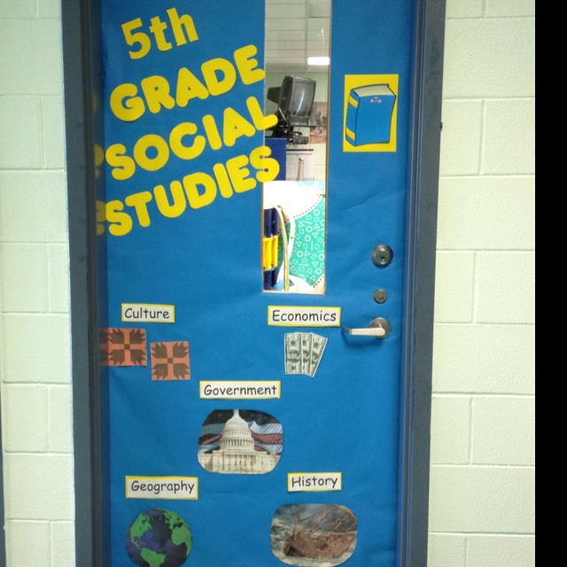 Social Studies Classroom Door Decorations ~ Best summer school images on pinterest teaching ideas