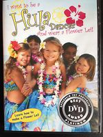 Want Your Kids to Learn the Hawaiian Hula Dancing? I want to be a Hula Dancer and wear a Flower Lei! Dance like a Hawaiian hula girl! Make the dream come true! This unique DVD is fun-filled introduction to the world of hula and the art of lei making for kids! Includes a warm-up, basic steps and 3 easy dances:     Plumeria Lei     Hawaiian Rainbows     May Day is Lei Day in Hawaii