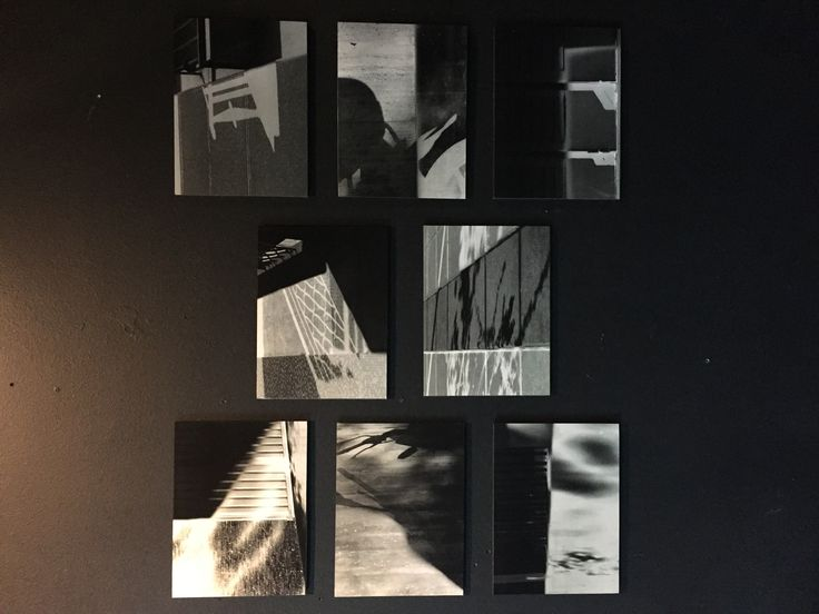 Sombras contradictorias (negativo y positivo) entrega fotografía w. Antonia Cruz 2016
