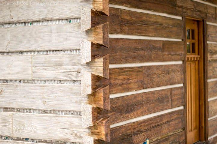17 best images about concrete log siding on pinterest E log siding
