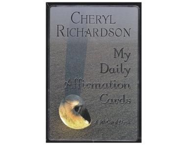 My Daily Affirmation Cards - Refocus your life and reprogram your subconscious.  This 50 card deck will assist you in revealing and reaching your deepest desires by ensuring your conscious minds stays rooted and focused on your intentions and to avoid you from getting distracted.
