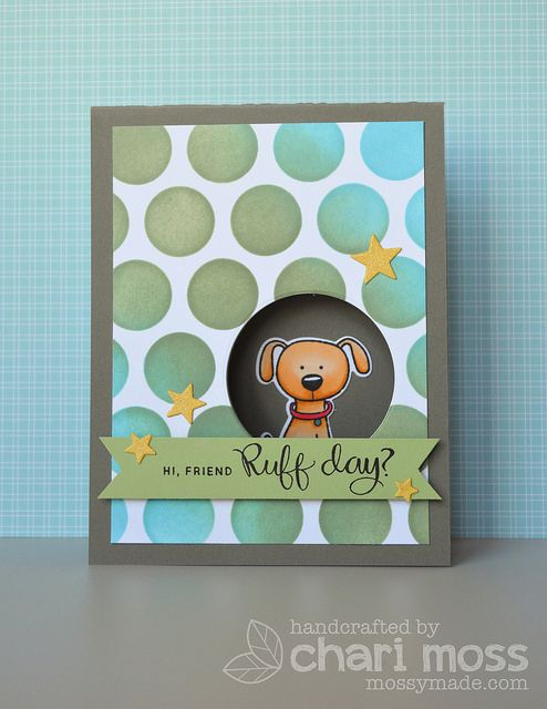 Simon Says Stamp You are Pawesome card - bjl