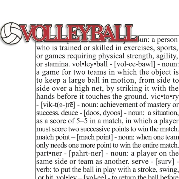 volleyball thesis