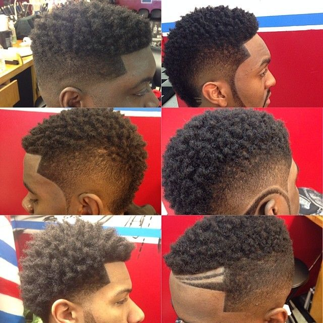 Faded Mohawk Hairstyles | thirstyroots.com: Black Hairstyles and Hair Care