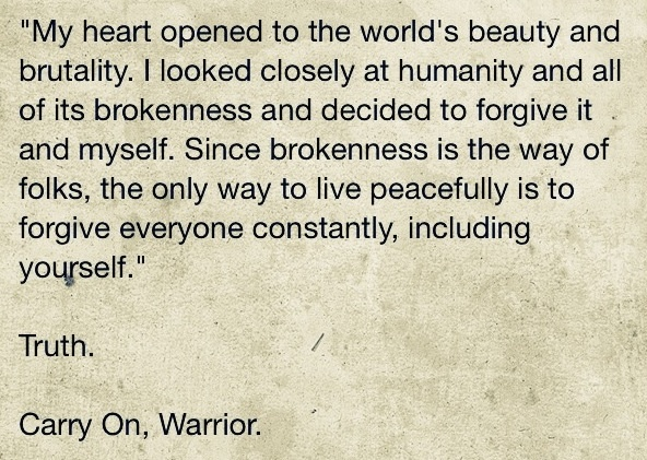 Great quote from Carry On, Warrior written by Glennon Doyle Melton.