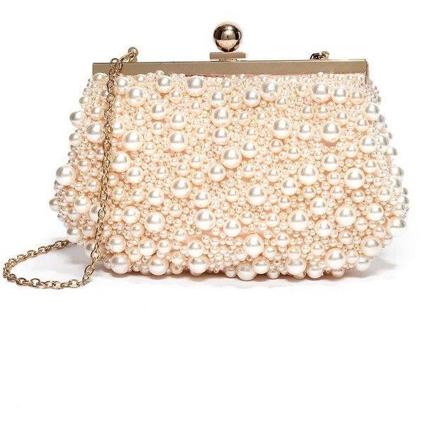 GUESS by Marciano PEARL MINAUDIERE found on Polyvore