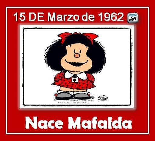March 15, 1962 - Mafalda's birth...