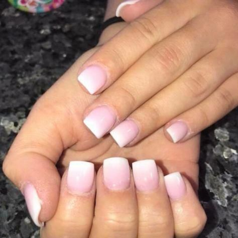 cute french nails chic frenchnailselegant  fake nails