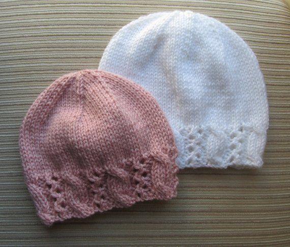 52ea3b580d6 Knitting Pattern Hat with a Fancy Border  127