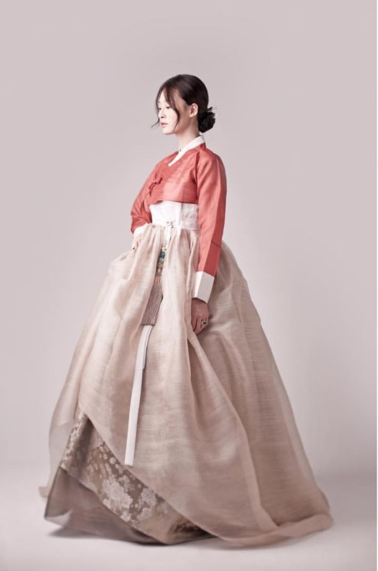 Hanbok Korean Traditional Clothes Dress Beautiful