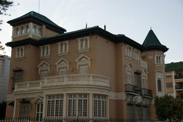 Villa onieva parte trasera arquitectura malague a en - Hotel astorga malaga ...