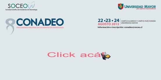 ¿Estudias Odontología? XVIII Congreso Nacional de Estudiantes de Odontología. Inscríbete! #congreso #odontología #conadeo #umayor