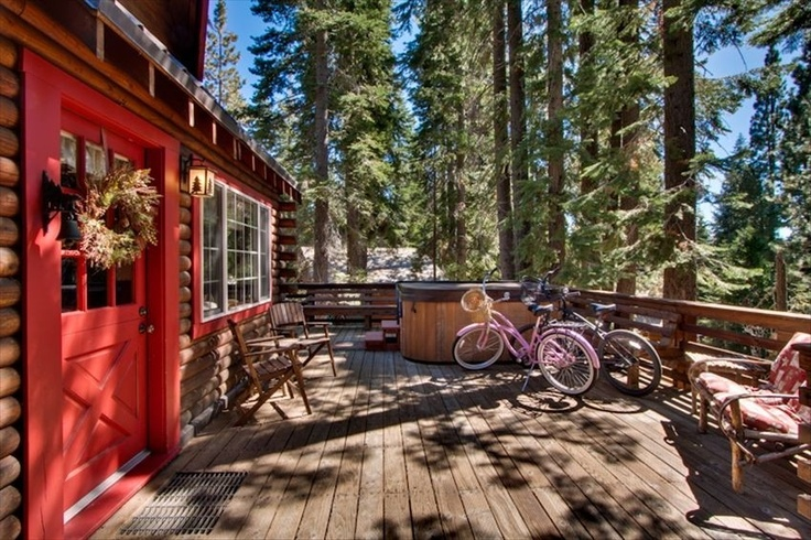 Sweet dreams in tahoe city authentic and cozy log cabin for North shore cabin rentals