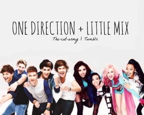 Petition for One Direction to collaborate with Little Mix!!! Repin! Repin! Repin!!!