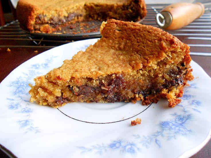 Deep Dish Chocolate Chip Cookie Pie   Delightful Desserts   Pinterest
