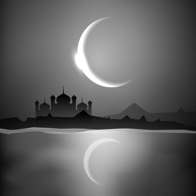 Religious Islamic Mosque Vector Background