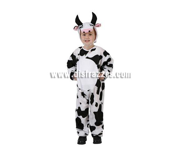 Disfraz barato de Vaca para niños de 5 a 6 años por sólo 7.95 € » Disfraces baratos de animales » tienda online de disfraces baratos