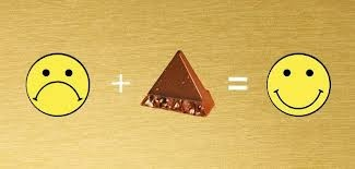 Toblerone Chocolate makes you happy. Fact.