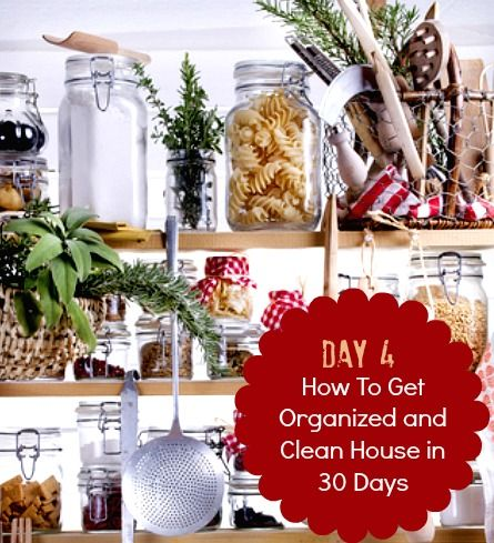 30 days to a clean and organized house pdf