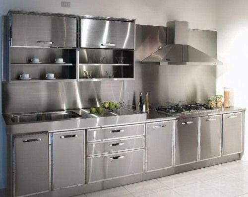 best 10 metal kitchen cabinets ideas on pinterest hanging kitchen cabinets traditional open kitchens and minimalist style open kitchens. beautiful ideas. Home Design Ideas