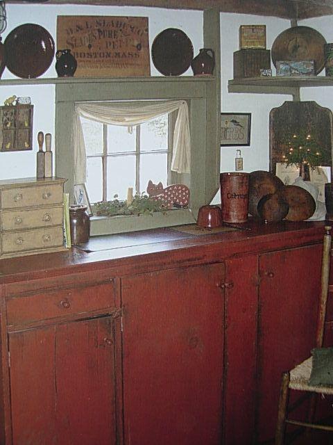 so love this kitchen - Primitive Kchen Bilder