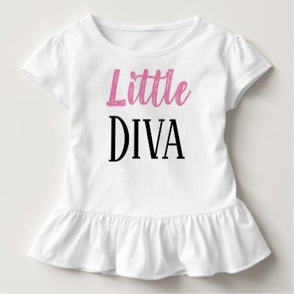 Little Diva Toddler Tee - toddler youngster infant child kid gift idea design diy