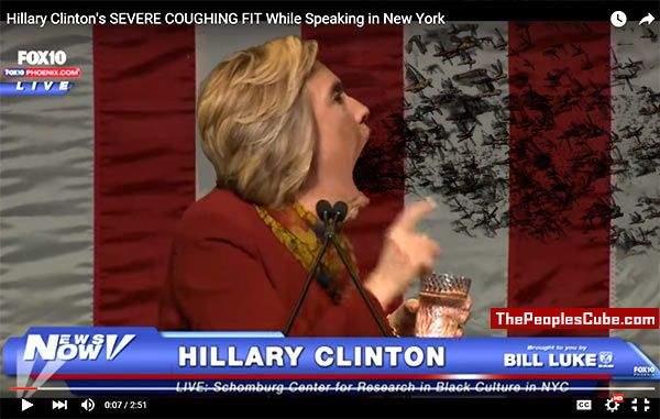 Satan trying to free himself from Hillary's body: VIDEO
