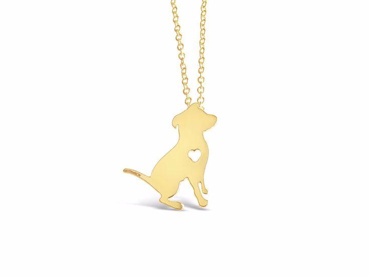Dog Necklace Dog Tag Necklace Dog Tags Weiner Dog I Love My Dog Necklace