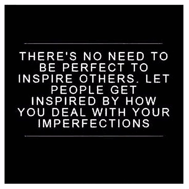 Nobody is perfect - Show your tribe how to handle it with grace!