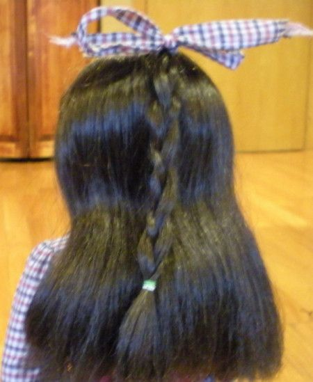 how to repair Frizzy doll hair on Thriftyfun.com