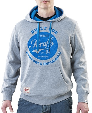Scruffs Vintage #Hoodie Pullover - All Sizes. The #Scruffs Vintage Work Hoodie is made from thick, hardwearing polyester/cotton material with a warm fleece lining and a double lined drawstring hood. UK Online Supplier of Tools and Equipment http://www.rapidtoolsdirect.co.uk/