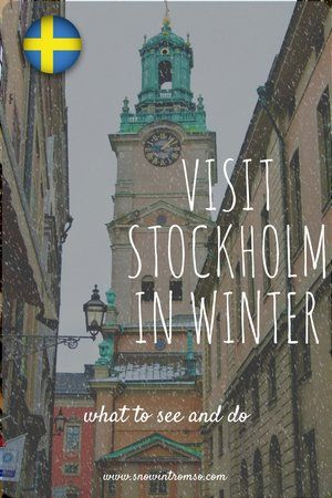 Ever been to #Stockholm? In winter? No? Well, here's why a visit to Sweden's capital is even amazing in winter - and what you can see and do there when you go!