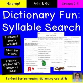 11 best dictionary skills uil images on pinterest dictionary dictionary skills grades 2 3 4 and 5 no fandeluxe Images