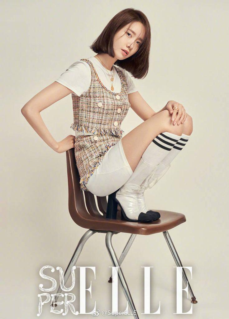 180313 'Super ELLE' magazine 2018 April Issue SNSD Yoona