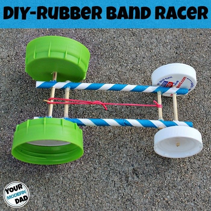 How To Build A Rubber Band Car 85