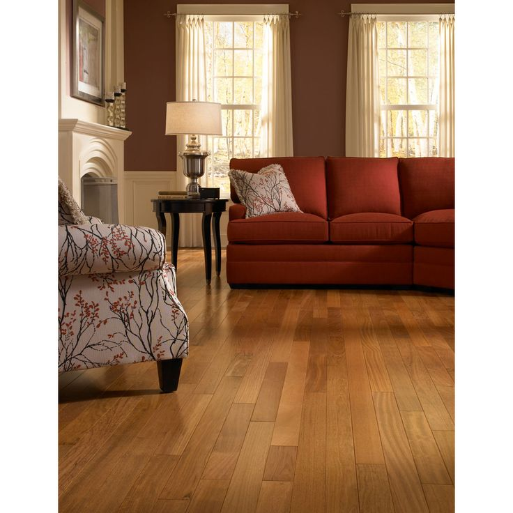 Natural Brazilian Cherry Hardwood Flooring Part - 47: Shop Natural Floors By USFloors Exotic 3.18-in W Prefinished Brazilian  Cherry Hardwood Flooring (