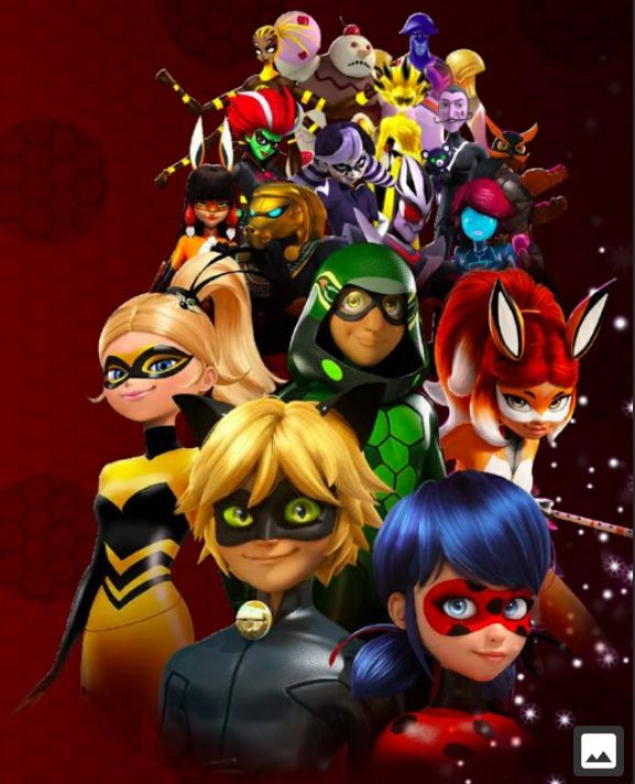 All miraculous hero's and villains | Miraculous ladybug in