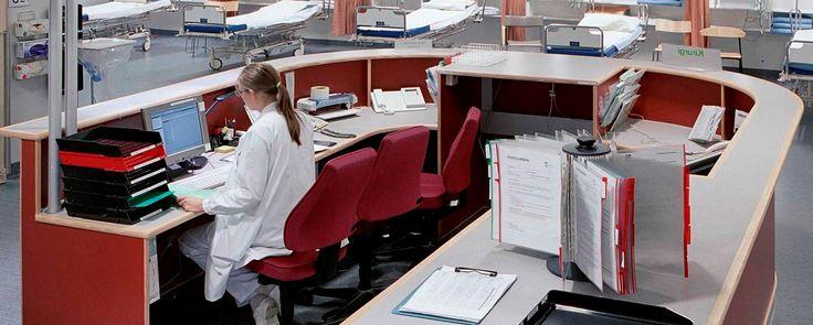 Karolinska Universitetssjukhus, Solna. - Akutmottagning   Arkitema.
