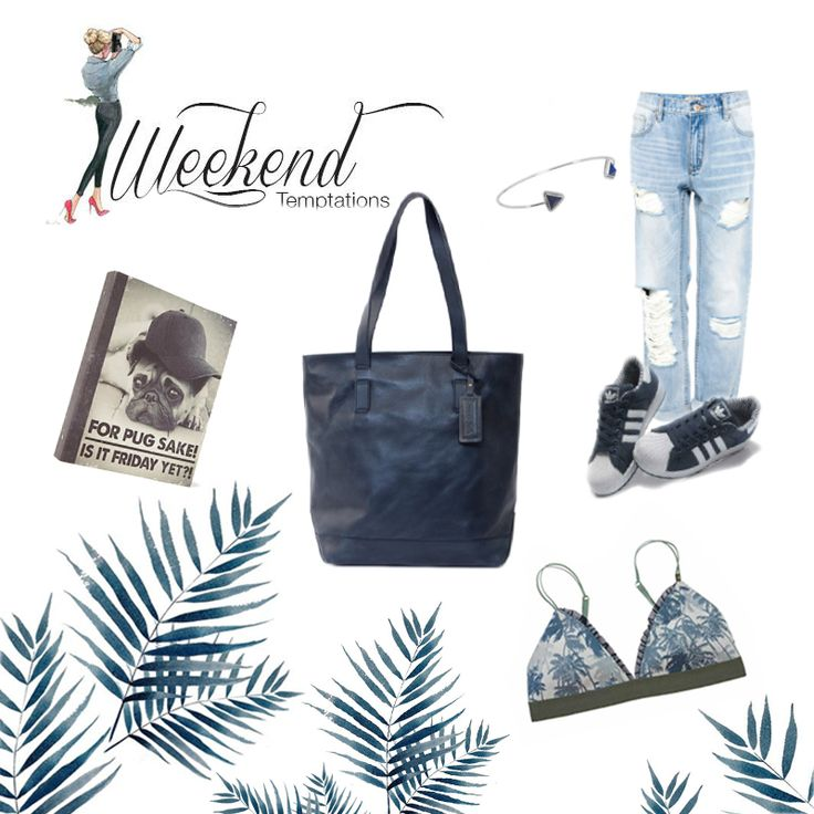 #denim #shoppper #leatherhandbag #blue #palm #rippedjeans #adidas #jeans #denimtheme