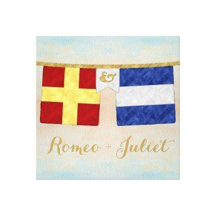 Romeo and Juliet Test 3 for API Canvas Print - art artwork picture diy unique