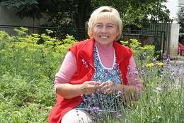Bylinkárka Anna Kopáčová z Vrbového vás prevedie svetom byliniek. Foto: Viera Dusíková