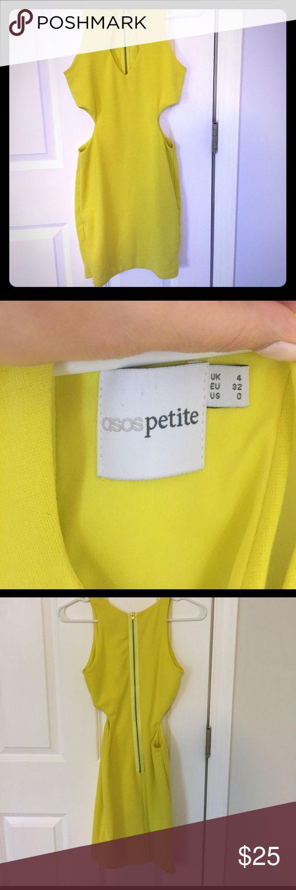 ASOS Petite Dress ASOS Petite bodycon dress with cutouts on the side. ASOS Petite Dresses Mini