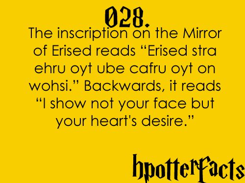 Harry Potter: Mind Blown, Nerd Facts, Facts 28, Harrypotter, Book, Hp Facts, Heart Desire, Harry Potter Facts, Harry Potter Mirror Of Erie