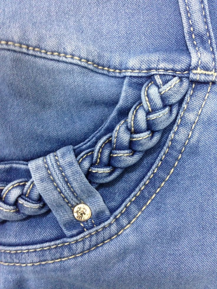 CUTE DETAILS ON FRONT POCKETS!