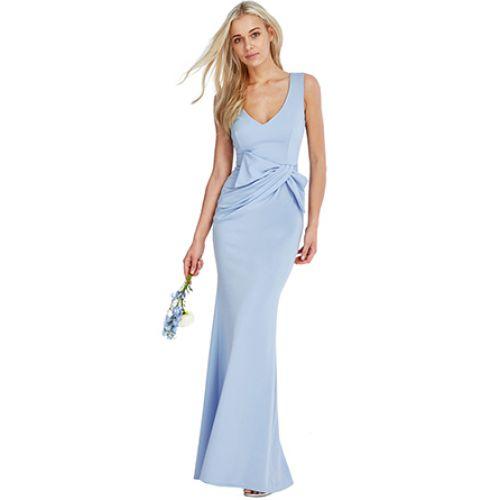 Vestido Fiesta Largo Azul Claro | Suen-Vestidos de fiesta