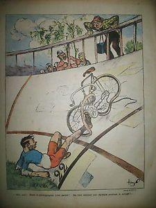 LILLUSTRe-NATIONAL-N-35-HUMOUR-CYCLISME-SUR-PISTE-DESSINS-GUILLAUME-HAYE-1903