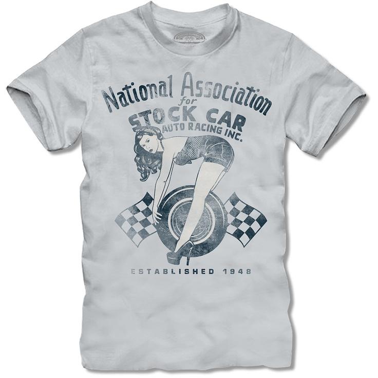 NASCAR Classics National Association of Stock Car Racing Pin Up Girl T-Shirt - NASCAR - NASCAR.COM SUPERSTORE  Large