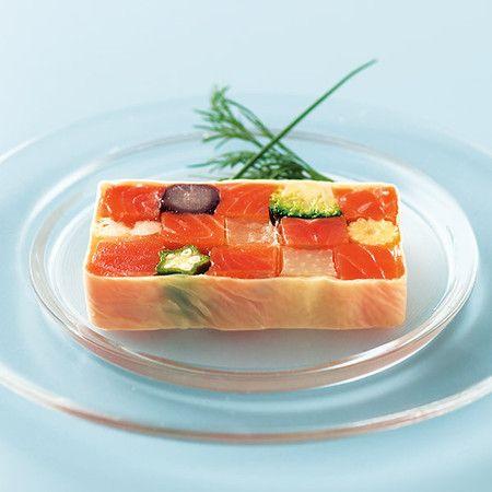 sashimi mosaic